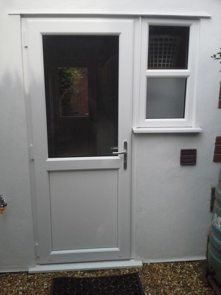 Fitted upvc front and back doors in walsall 01922 400074 for Upvc back doors fitted