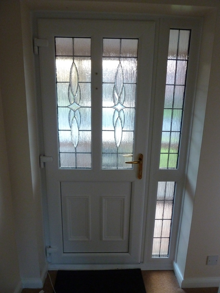 Fitted upvc front and back doors in walsall 01922 400074 for Upvc windows and doors